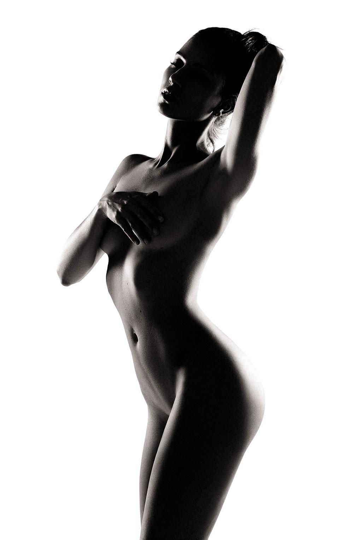 Голая модель Милунель, фотограф Бенджамин Вингриф / фото 11