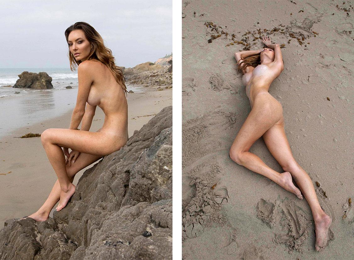Одинокое утро на пляже / Jocelyn Binder by themanuc - Yume Magazine
