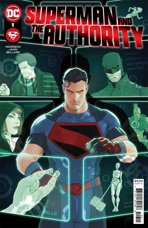 Superman and the Authority 01-03 (2021)