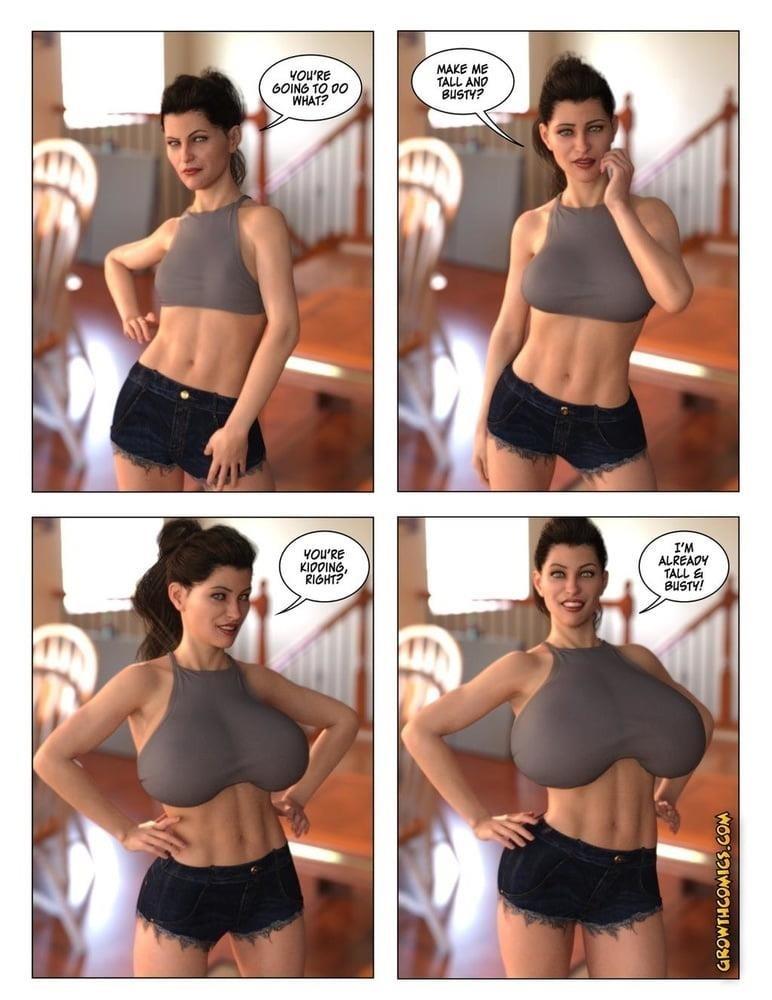 Female muscle big clit-6785