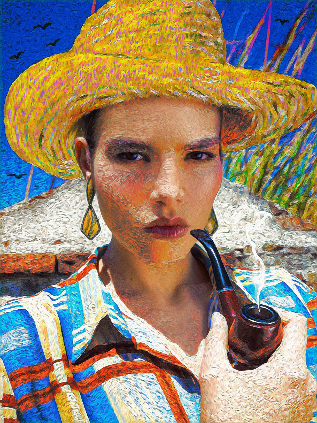 Реклама ювелирных изделий в стиле Ван Гога / фото 08