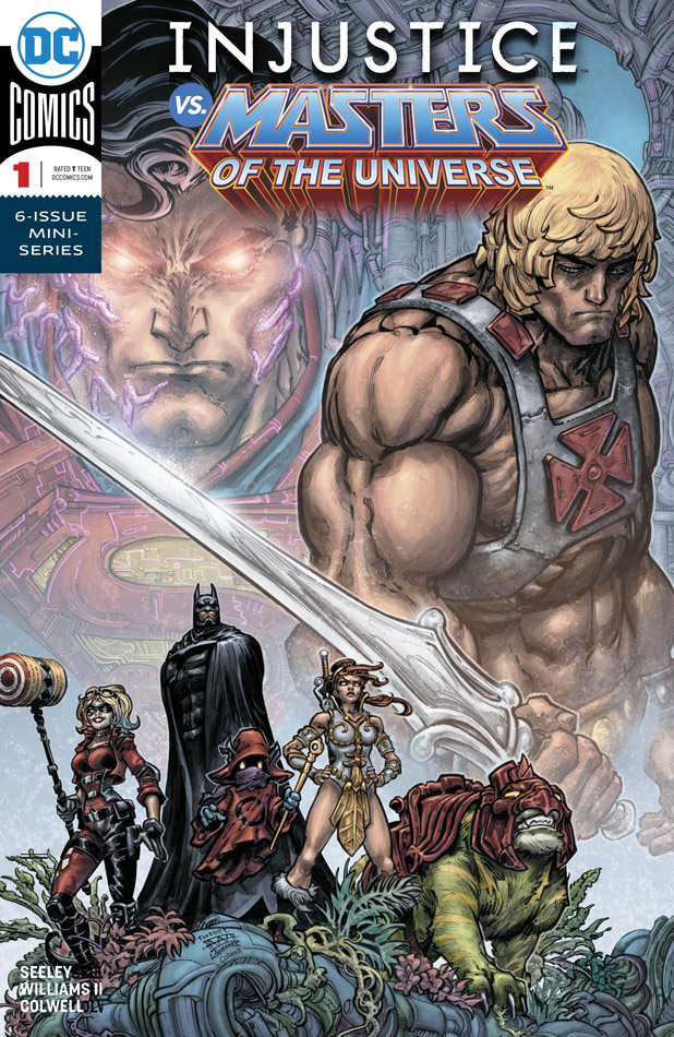 Injustice vs. Masters of the Universe #1-6 (2018-2019) Complete