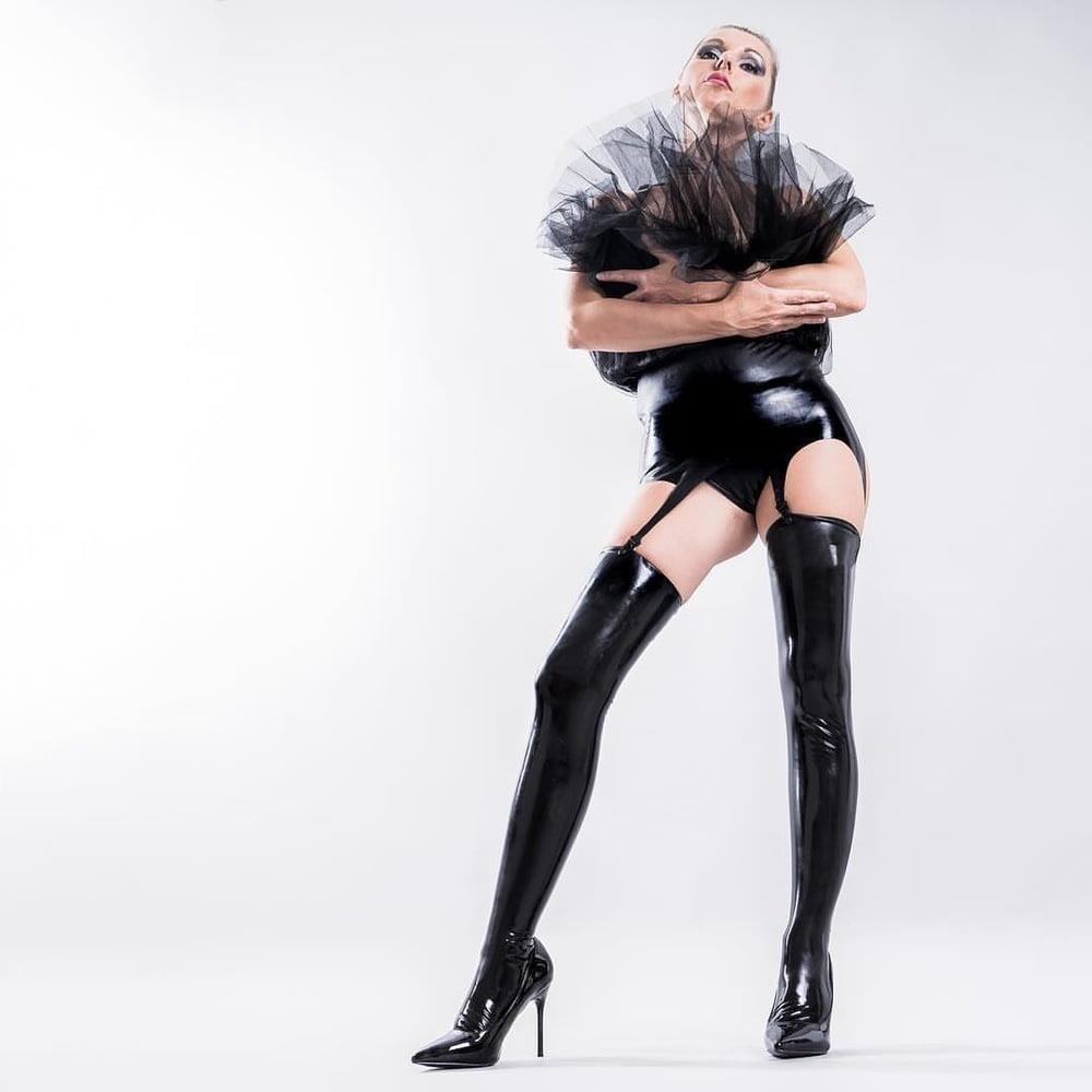 Latex stockings porn pics-9768
