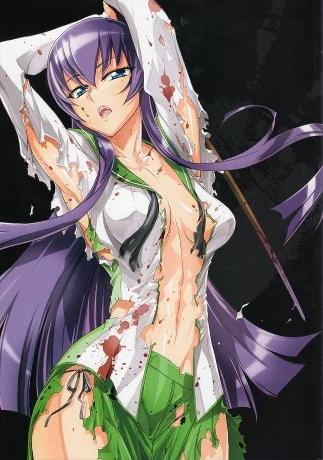 Highschool of the dead girls naked-2852