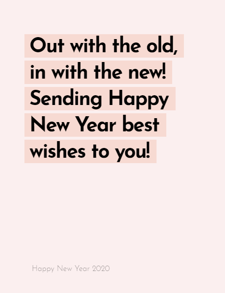 Happy New Year 2020 Wishes Quotes, Happy new year inspiration night 2020, wishes, messages & greetings 12