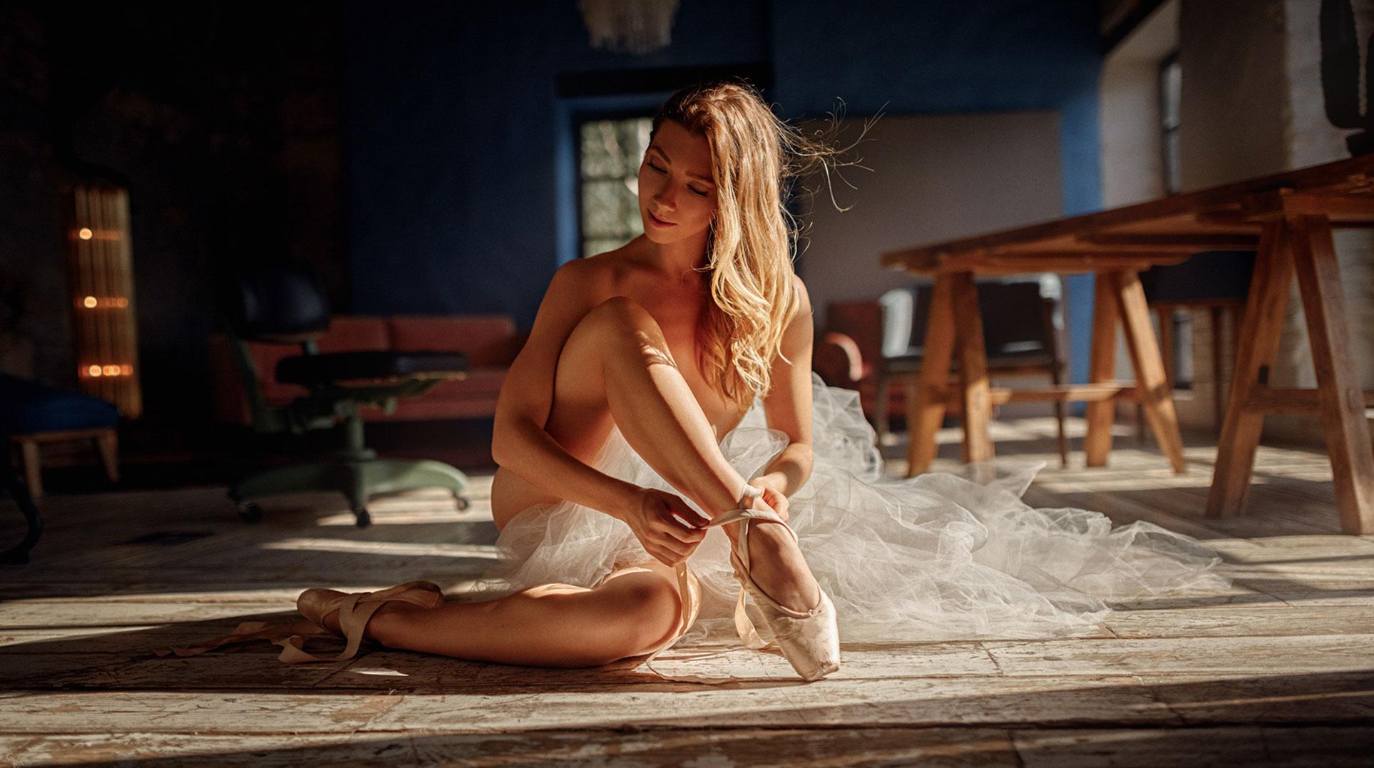 Балерина Анна танцуета сексуальный танец / фото 03