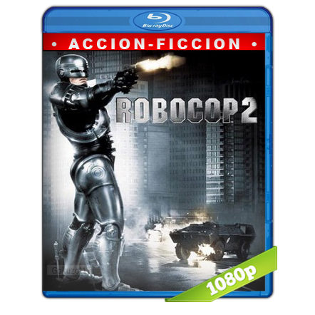 descargar RoboCop 2 1080p Lat-Cast-Ing[Fantástico](1990) gartis