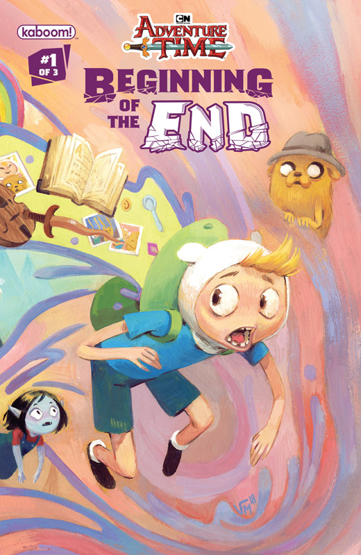 Adventure Time - Beginning of the End #1-3 (2018) Complete