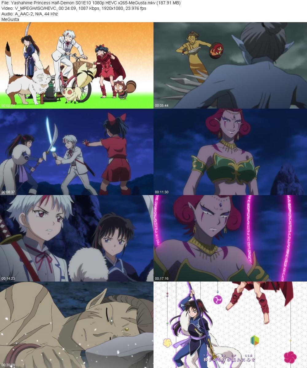 Yashahime Princess Half-Demon S01E10 1080p HEVC x265-MeGusta