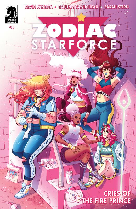 Zodiac Starforce - Cries of the Fire Prince #1-4 (2017-2018) Complete