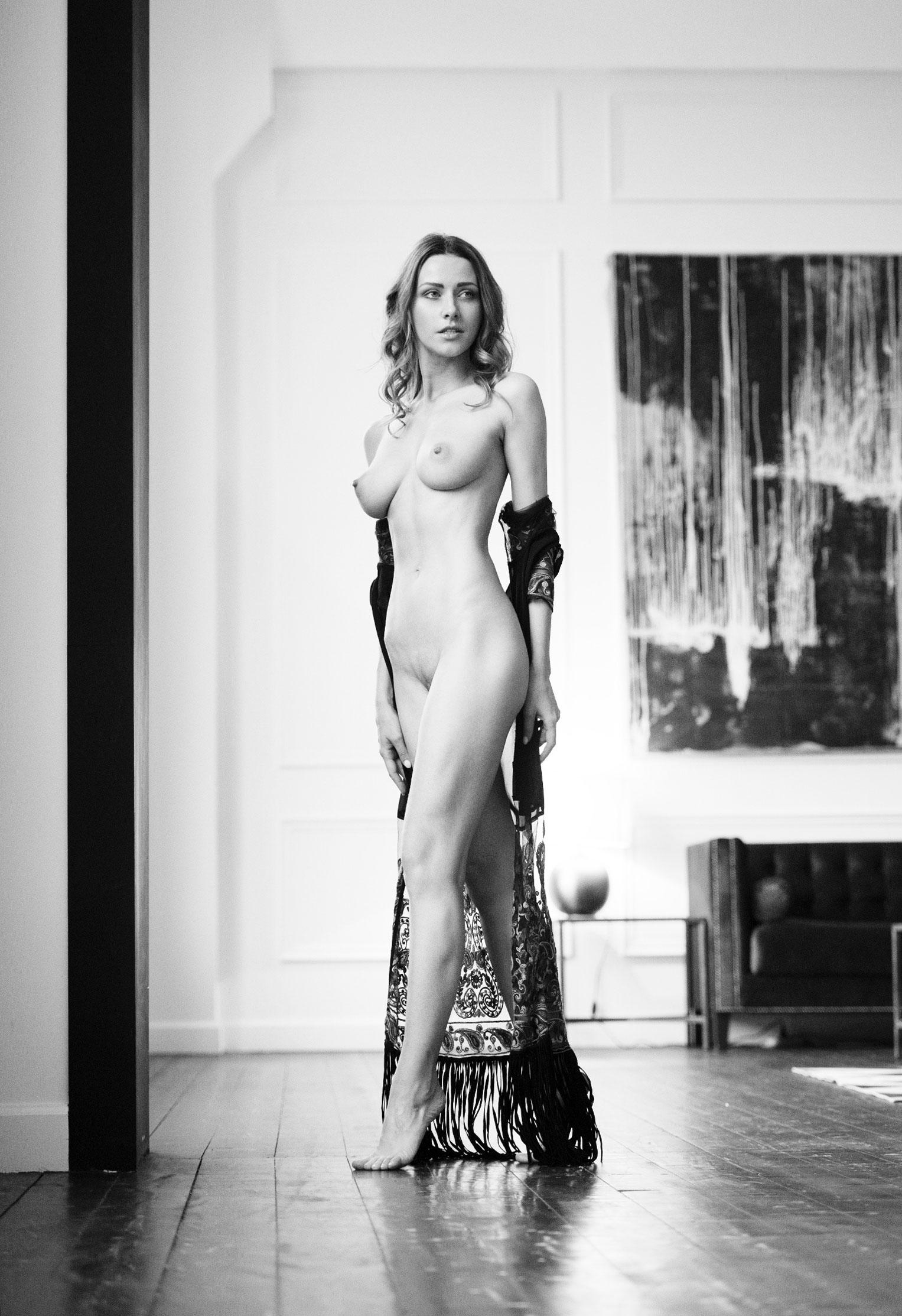 Olga Alberti nude by Martin Wieland