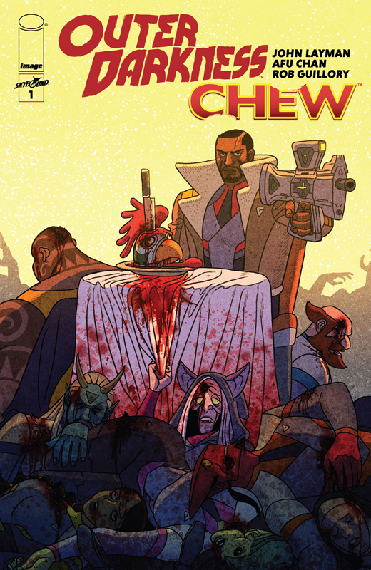Outer Darkness - Chew #1-3 (2020)