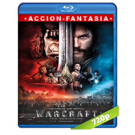Warcraft El Primer Encuentro De Dos Mundos (2016) BRRip 720p Audio Trial Latino-Castellano-Ingles 5.1