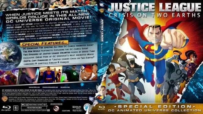 Liga De La Justicia Crisis En Dos Tierras (2010) BRRip Full 1080p Audio Trial Latino-Castellano-Ingles