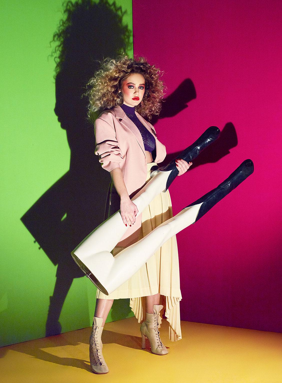 Делайла Белле и модные манекены, фотограф Энрике Вега / фото 10