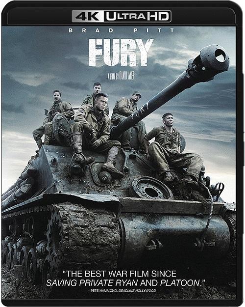 Furia / Fury (2014) MULTi.REMUX.2160p.UHD.Blu-ray.HDR.HEVC.ATMOS7.1-DENDA / LEKTOR i NAPISY PL