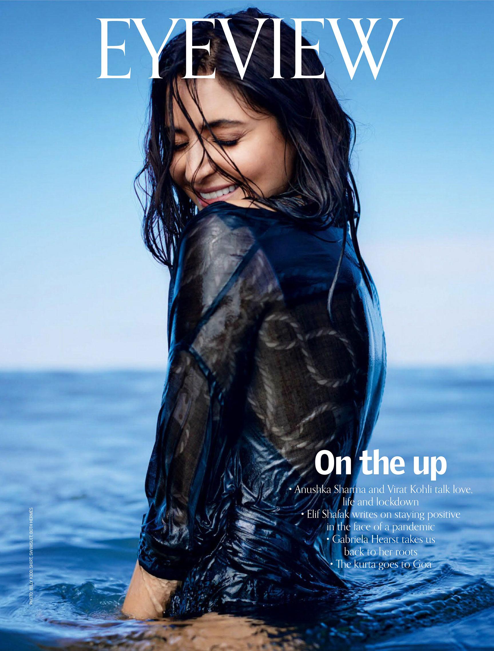 Анушка Шарма в новинках модных брендов на побережье Гоа / фото 10
