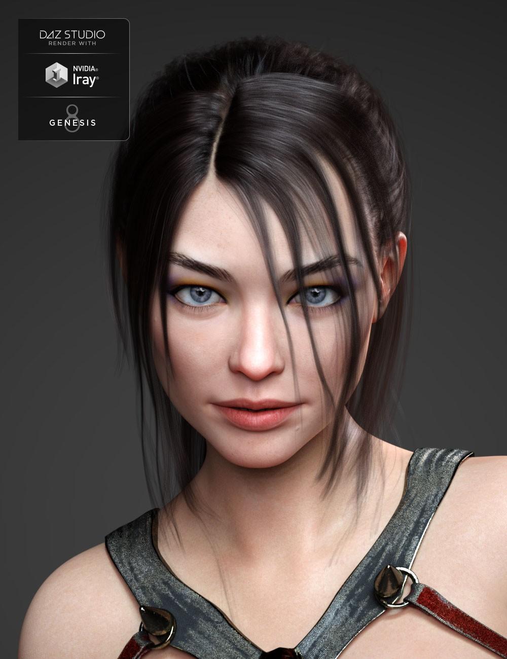 Keriann HD for Genesis 8 Female