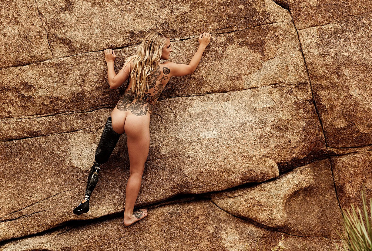 Kirstie Ennis - ESPN The Body Issue 2017 / photo by Peter Yang