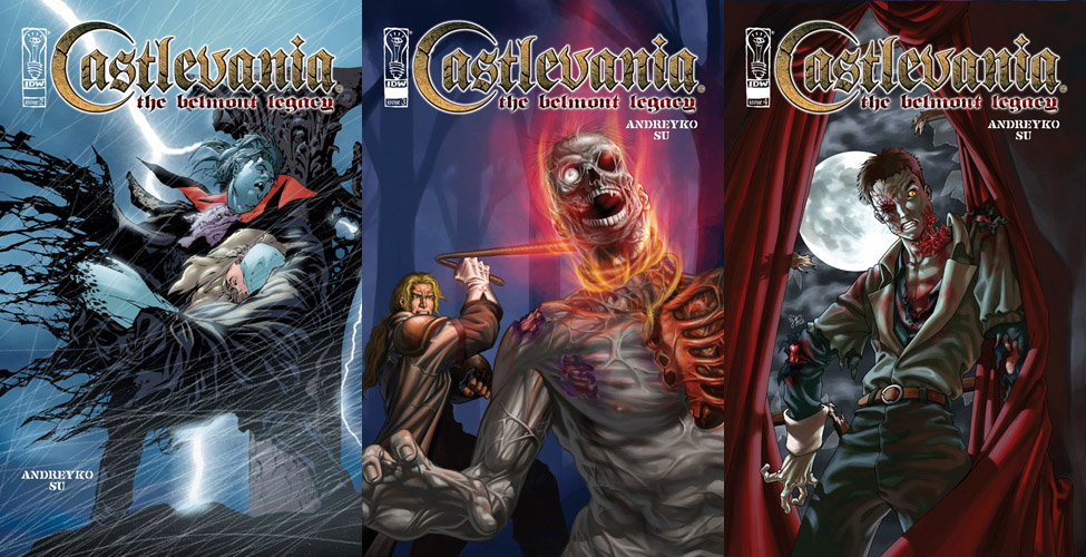 Castlevania - The Belmont Legacy #1-5 (2005) Complete