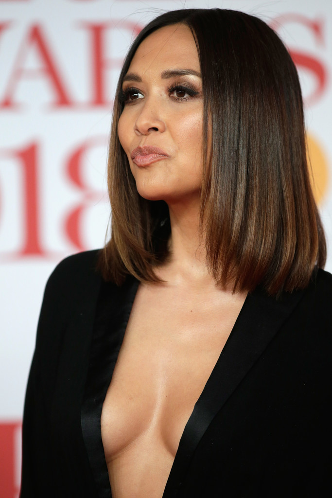 MYLEENE KLASS at Brit Awards 2018 in London 02/21/2018