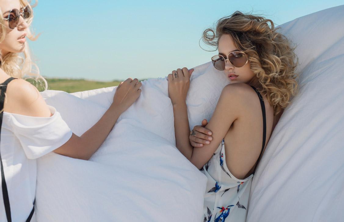 Одежда модного бренда Heyro, весна-лето 2016 / Andreea Matei and Andreea Prodan by Calin Andreescu / Positive Magazine