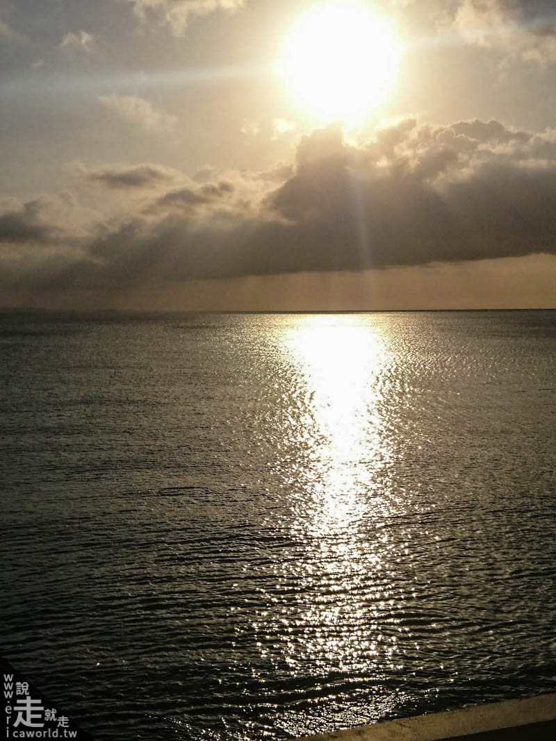 宮城海岸夕陽