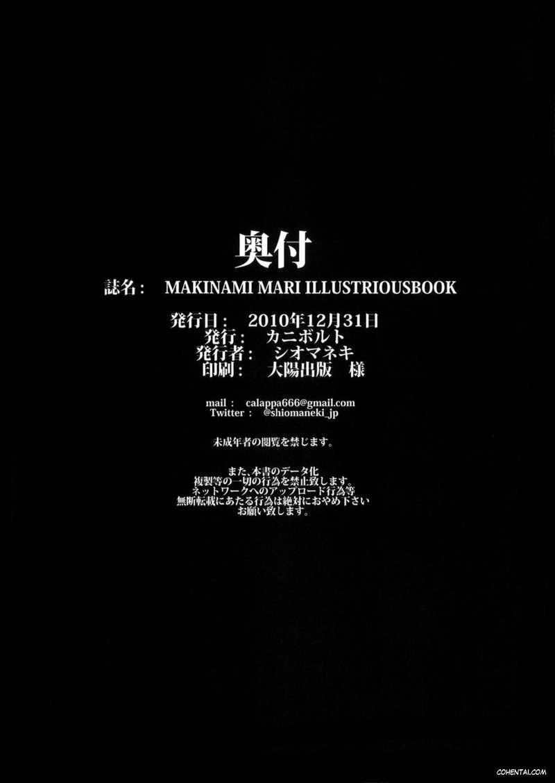 MAKINAMI MARI ILLUSTRIOUS BOOK (Neon Genesis Evangelion)