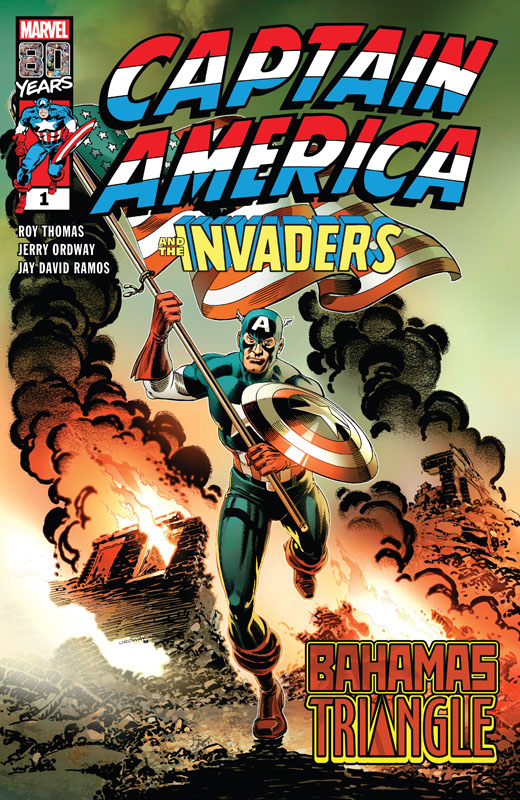 Captain America and the Invaders - The Bahamas Triangle 001 (2019)