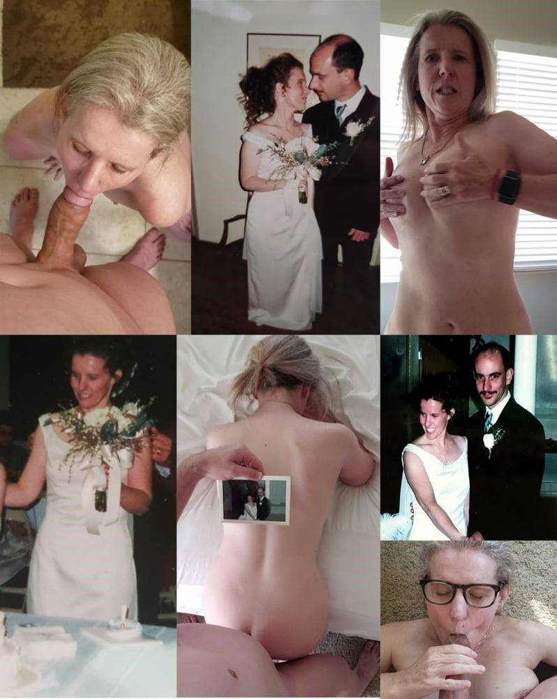 Wedding dress bukkake-9602