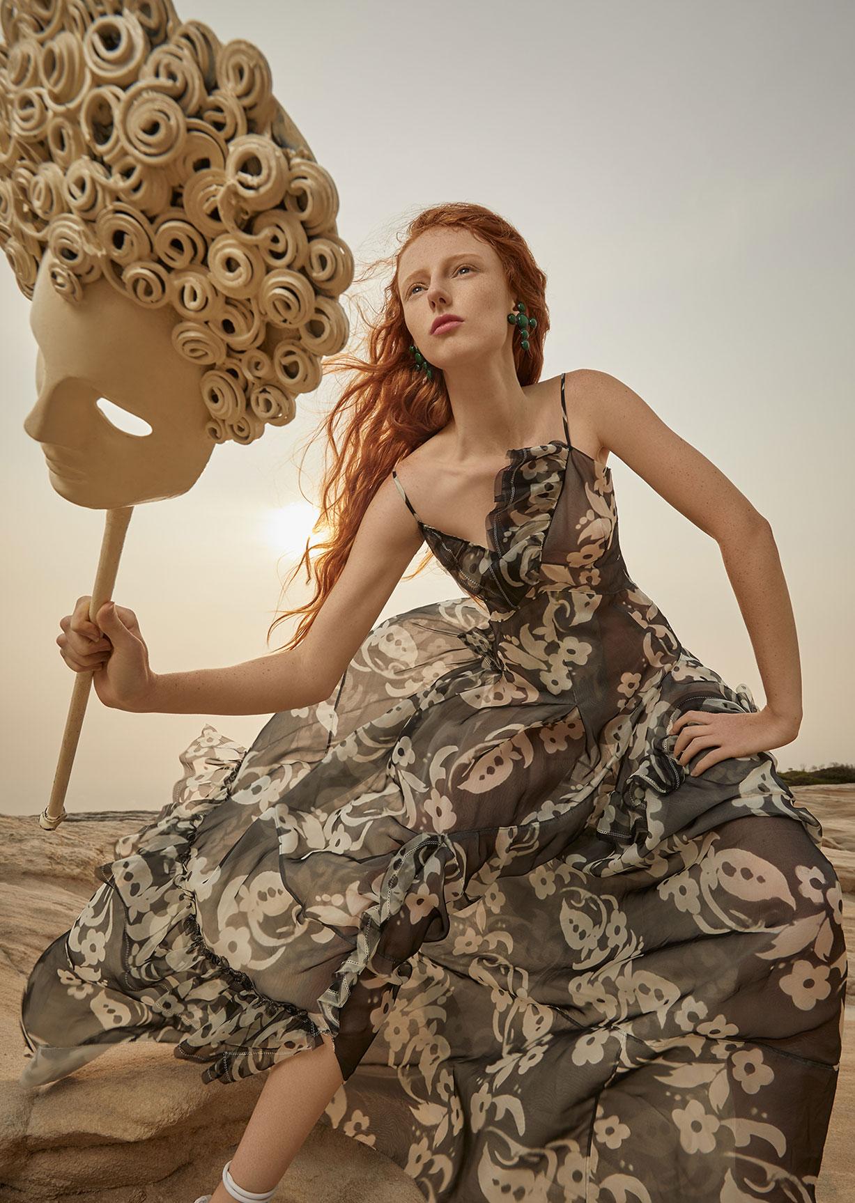 Модный маскарад в журнале Grazia / фото 14