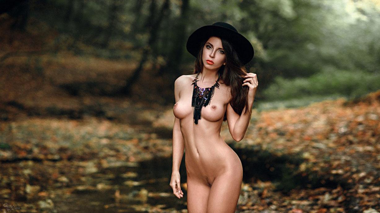 Nude women having sex