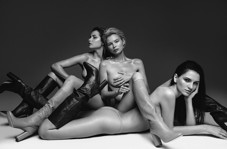 Аня Шрамко, Юлия Логачева, Саша Смит и Нами Доржиева - голые и сексуальные / фото 04