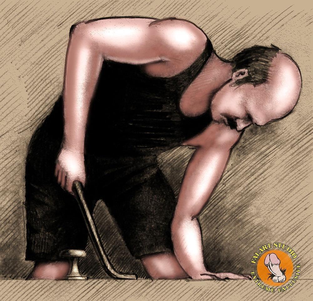 Bdsm slave tied up-1770