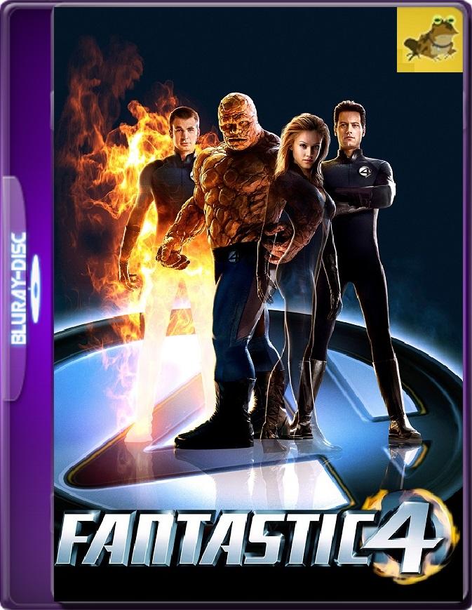 Los Cuatro Fantásticos (2005) Brrip 1080p (60 FPS) Latino / Inglés