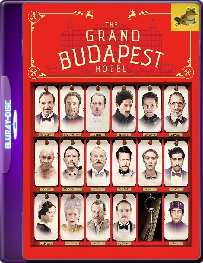 El Gran Hotel Budapest (2014) Brrip 1080p (60 FPS) Latino / Inglés