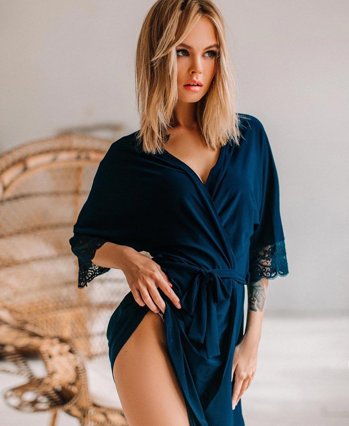 Анастасия Щеглова в нижнем белье торговой марки MissX / фото 34