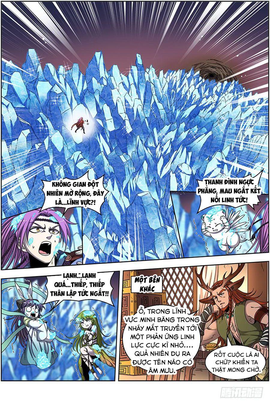 Ngự Linh Thế Giới Chapter 387 - Trang 8