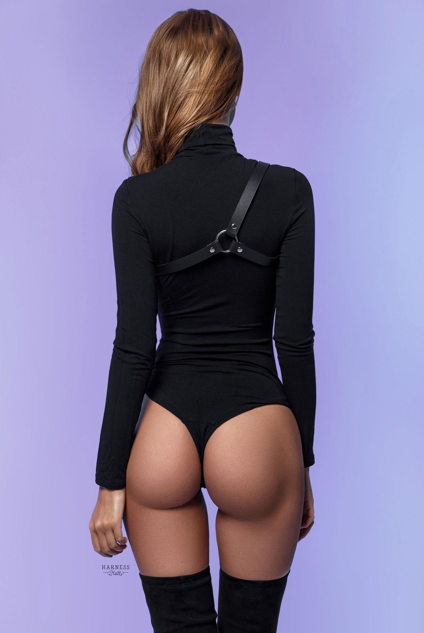 Анастасия Щеглова в нижнем белье Harness Hall, 2018 год / фото 21