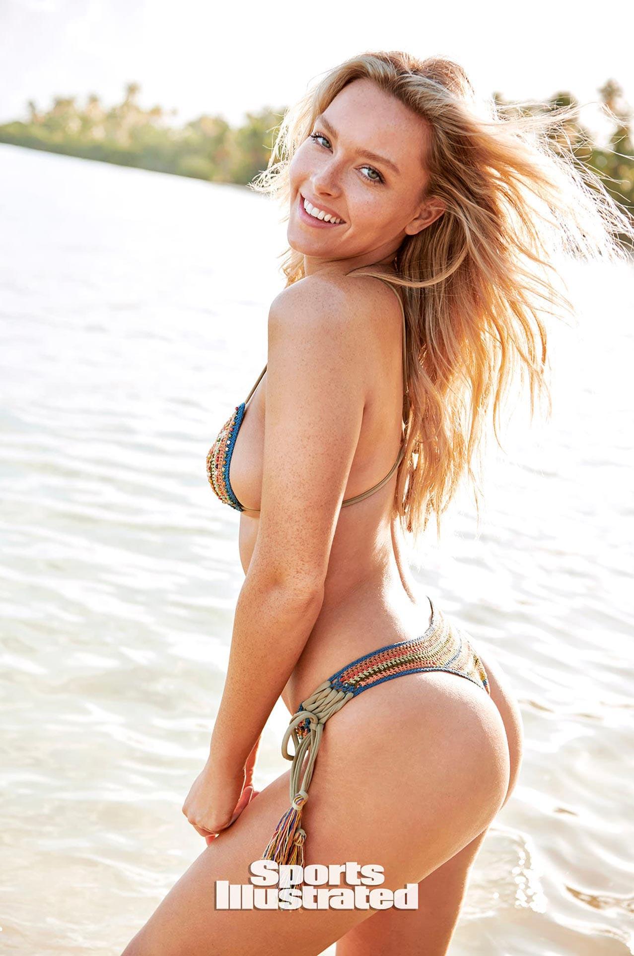 Камилла Костек в каталоге купальников Sports Illustrated Swimsuit 2020 / фото 03