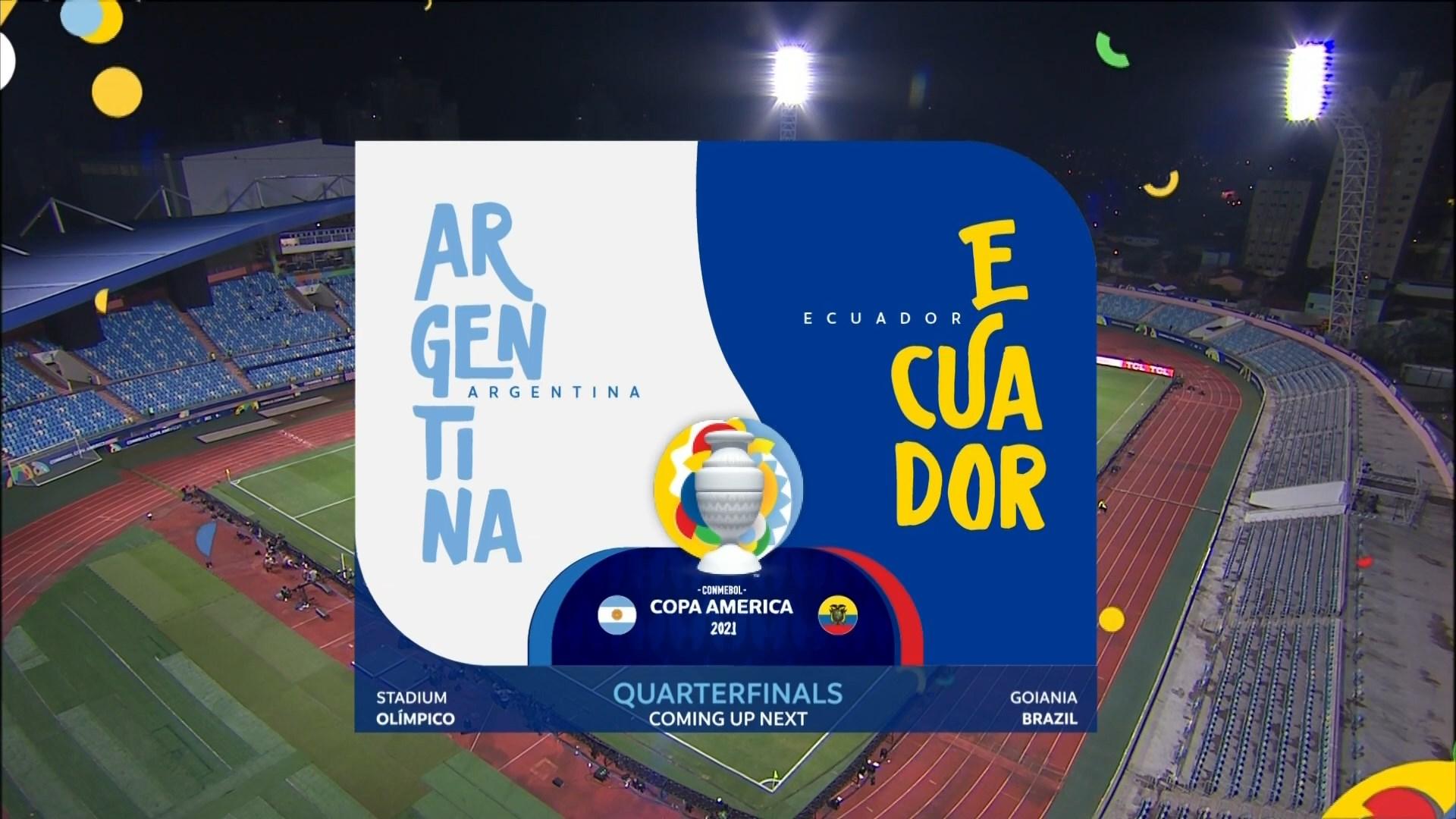 Full match: Argentina vs Ecuador