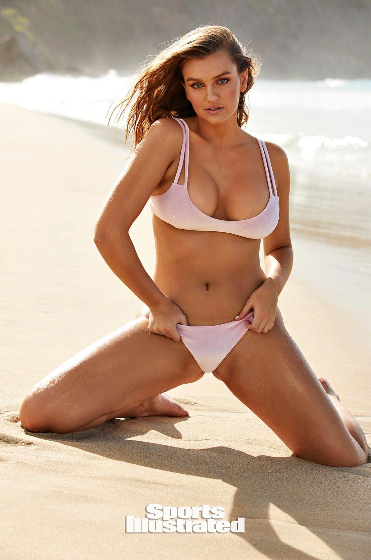 Оливия Брауэр в каталоге купальников Sports Illustrated Swimsuit 2020 / фото 02