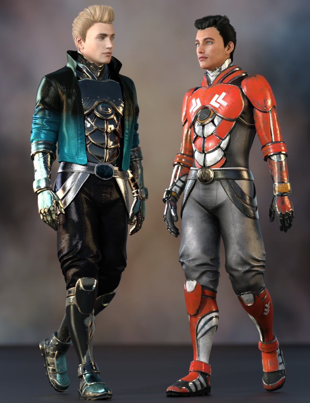 Noah Sci fi Outfit for Genesis 8 Male(s)