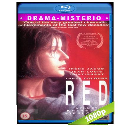 descargar Tres Colores Rojo [1994][BD-Rip][1080p][Dual Cas-Fra][Drama] gratis