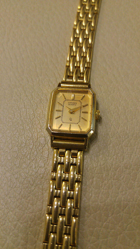 Citizen Women S Watch Base Metal Yp 3220 Gold Plated