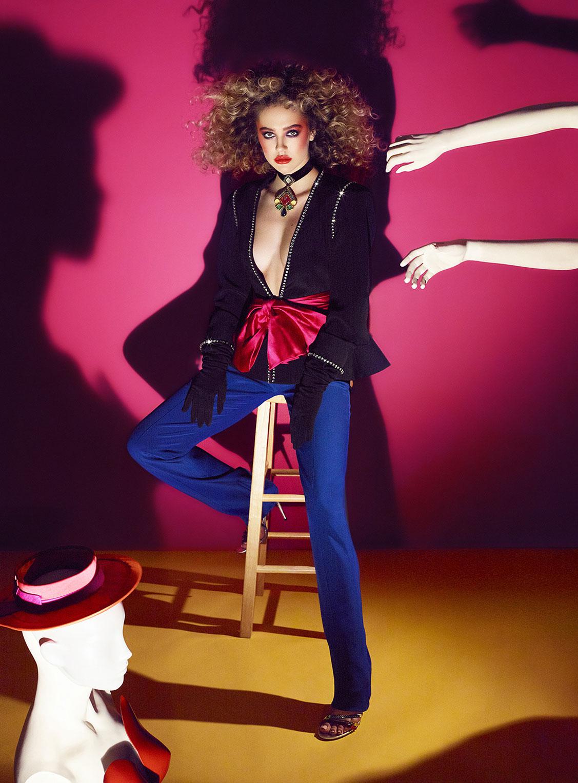 Делайла Белле и модные манекены, фотограф Энрике Вега / фото 05
