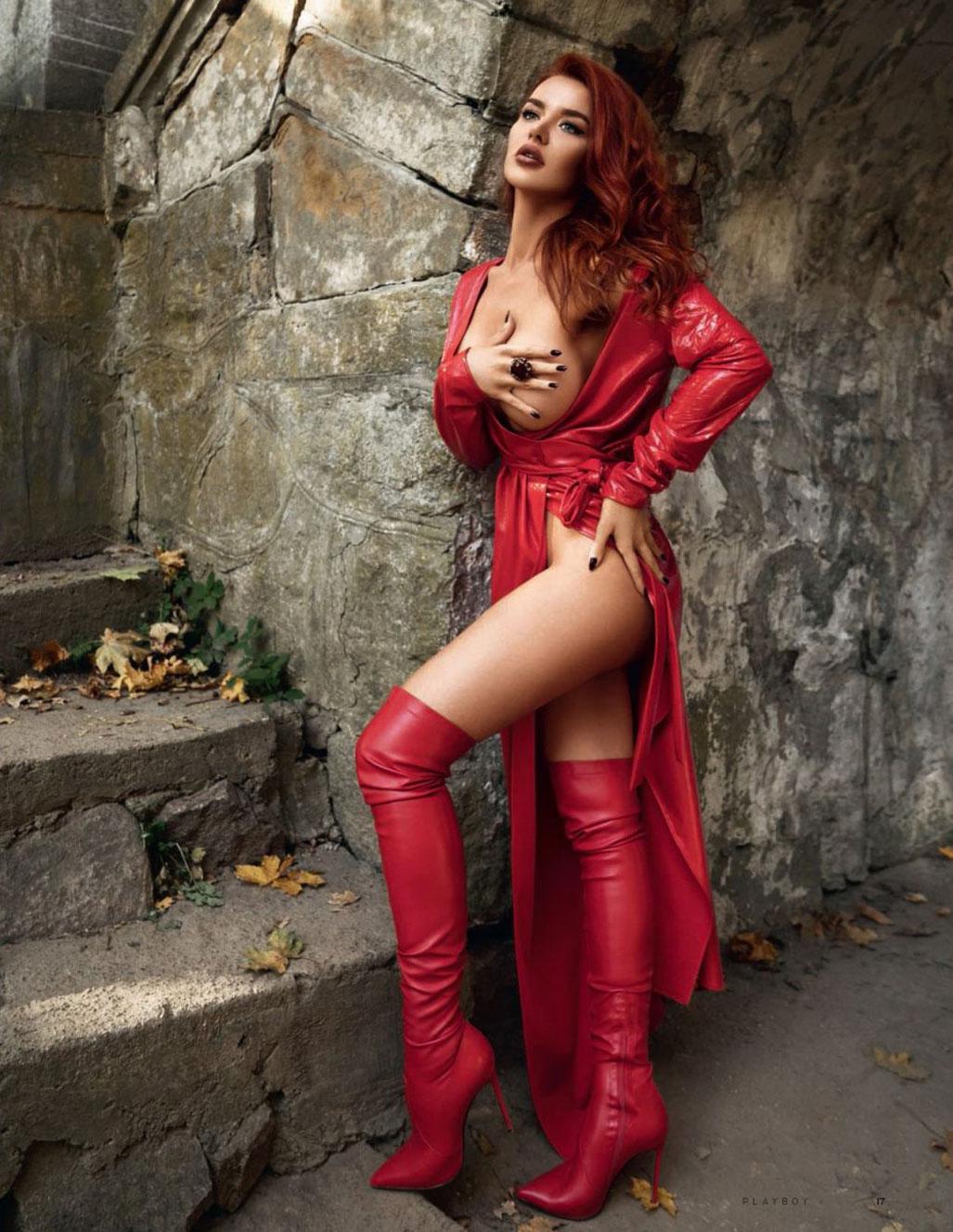 фотомодель журнала Playboy Маргарита Солодка, фотограф Антон Софийченко / фото 08