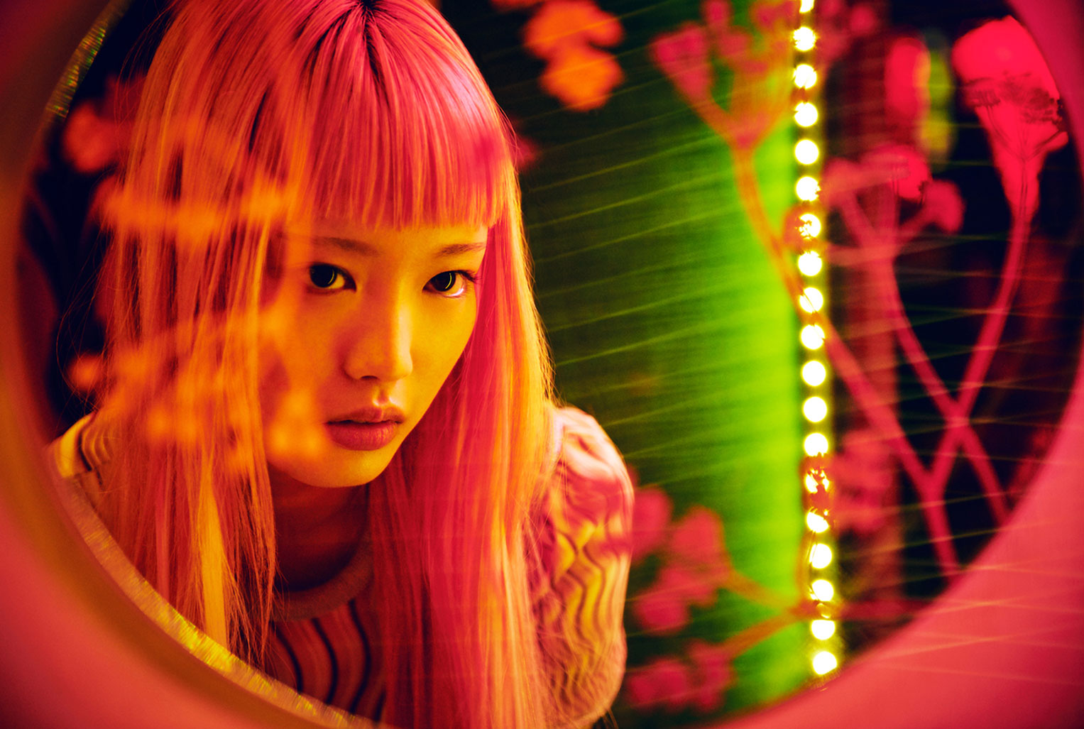 Neon Heart / Fernanda Ly by David Mandelberg / Grazia Australia august 2016