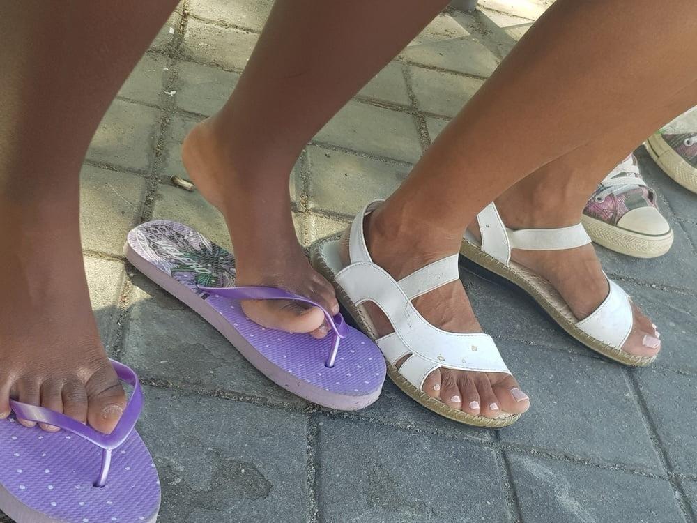Black mom feet porn-4204