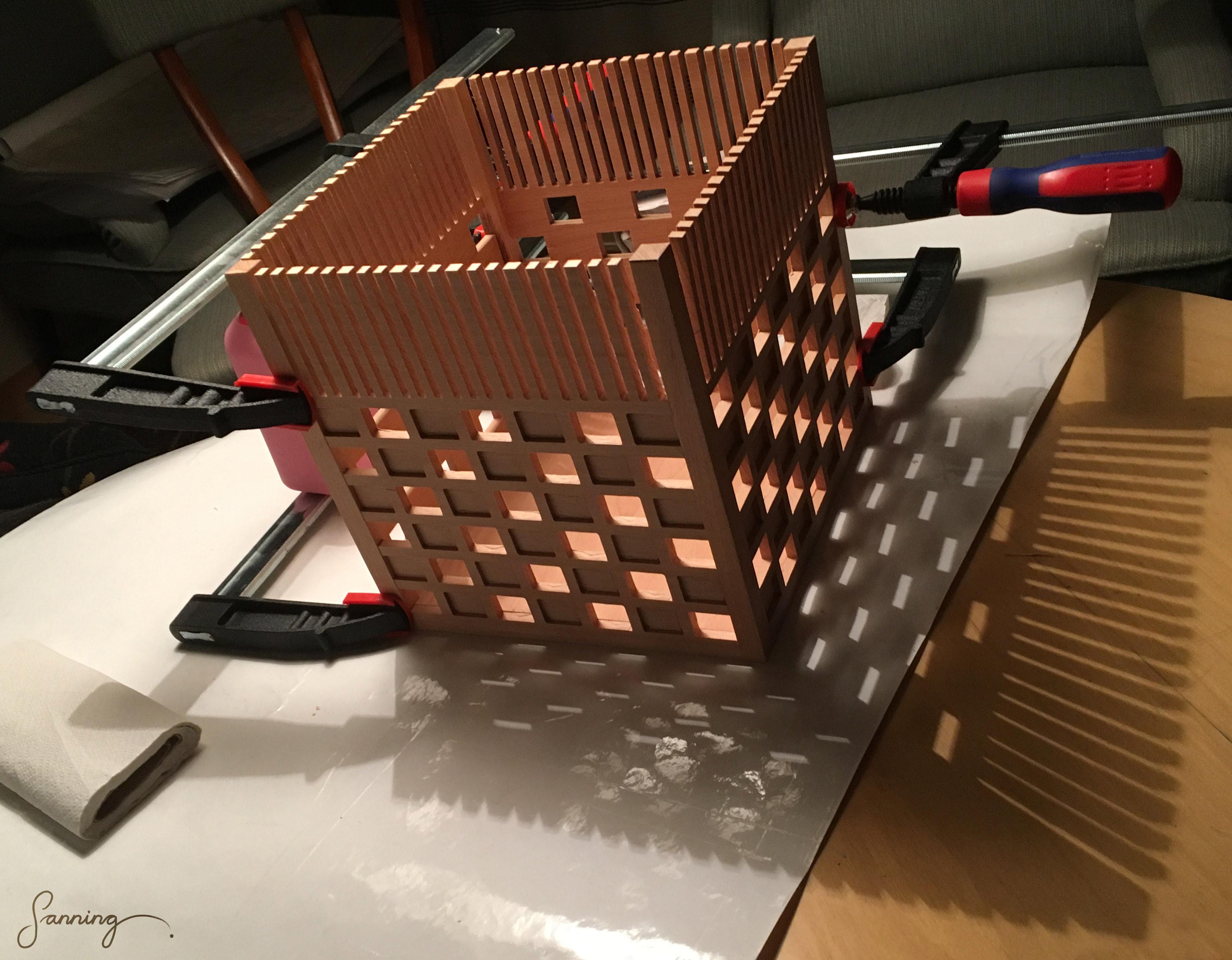 "Arkipelago\Möbelworkshop – ""HL2-lampa"" [armatur] – montering"